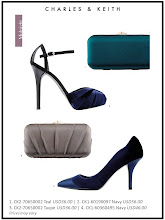 Photo: Autumn'12 Style 8: Perfect your party ensemble with effortless glamour pieces   Visit your nearest store or CharlesKeith.com to find out more