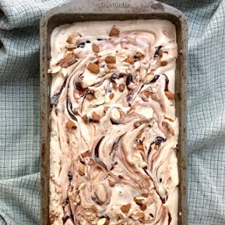 Java Almond Fudge Ice Cream.