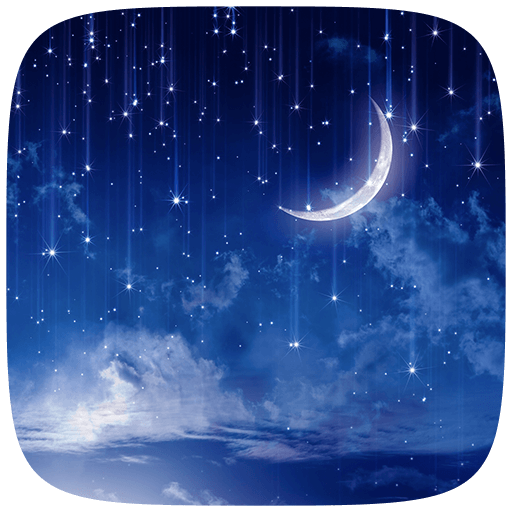 Crescent Moon Live wallpaper 個人化 LOGO-玩APPs