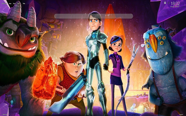 Trollhunters Wallpapers New Tab Themes