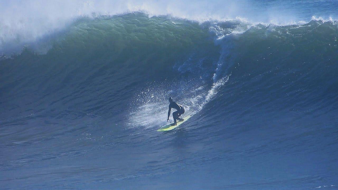 Surfing - Big Steamer Lane, Santa Cruz 11/9/16 - YouTube