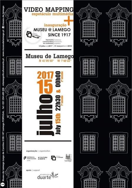 Espetáculo multimédia traz novas formas à fachada do Museu de Lamego