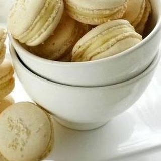Coconut Flavored Macarons with White Chocolate Coconut Filling Recipe