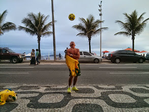 Photo: Amazing Talent on The Streets of Rio