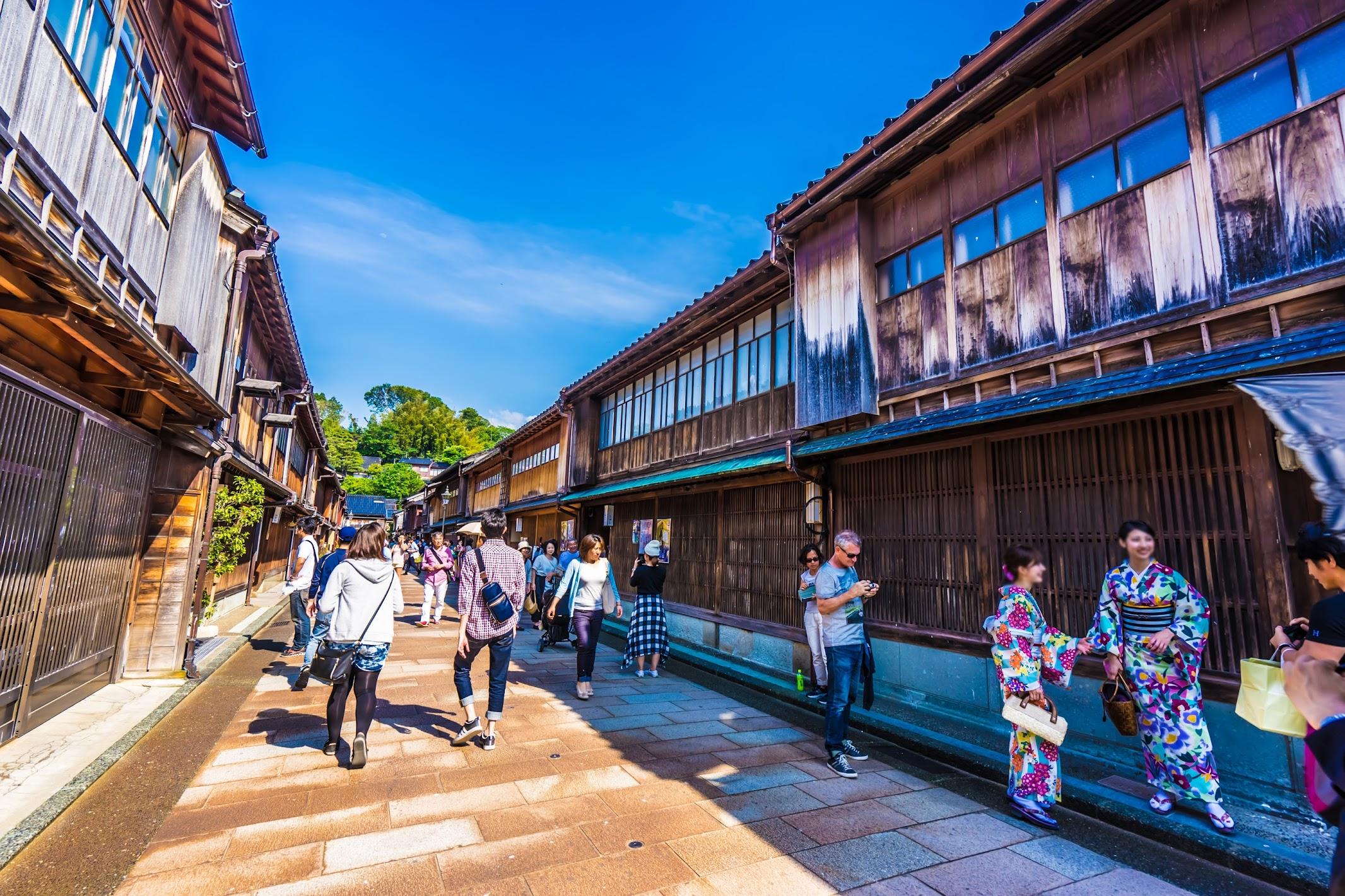 Kanazawa Higashi Chaya District1