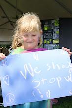 Photo: We Should Stop War