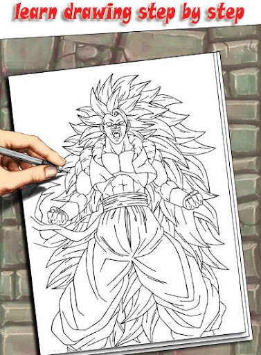 How To Draw DBZ Characters 1.3 screenshots 1