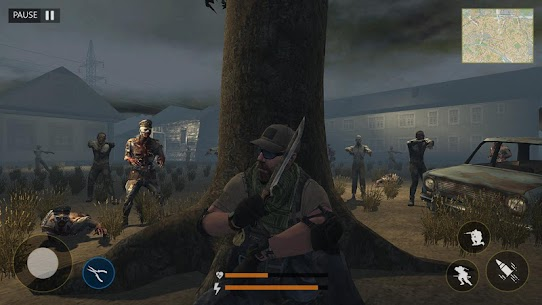 Last of Zombie: Real Survival Shooter 3D MOD (Unlimited Money) 2