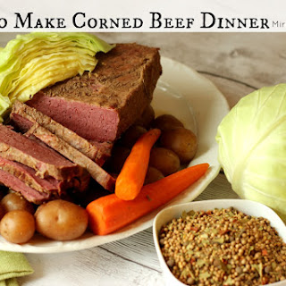 How to Make Corned Beef Dinner.