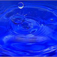 goccia d'acqua di