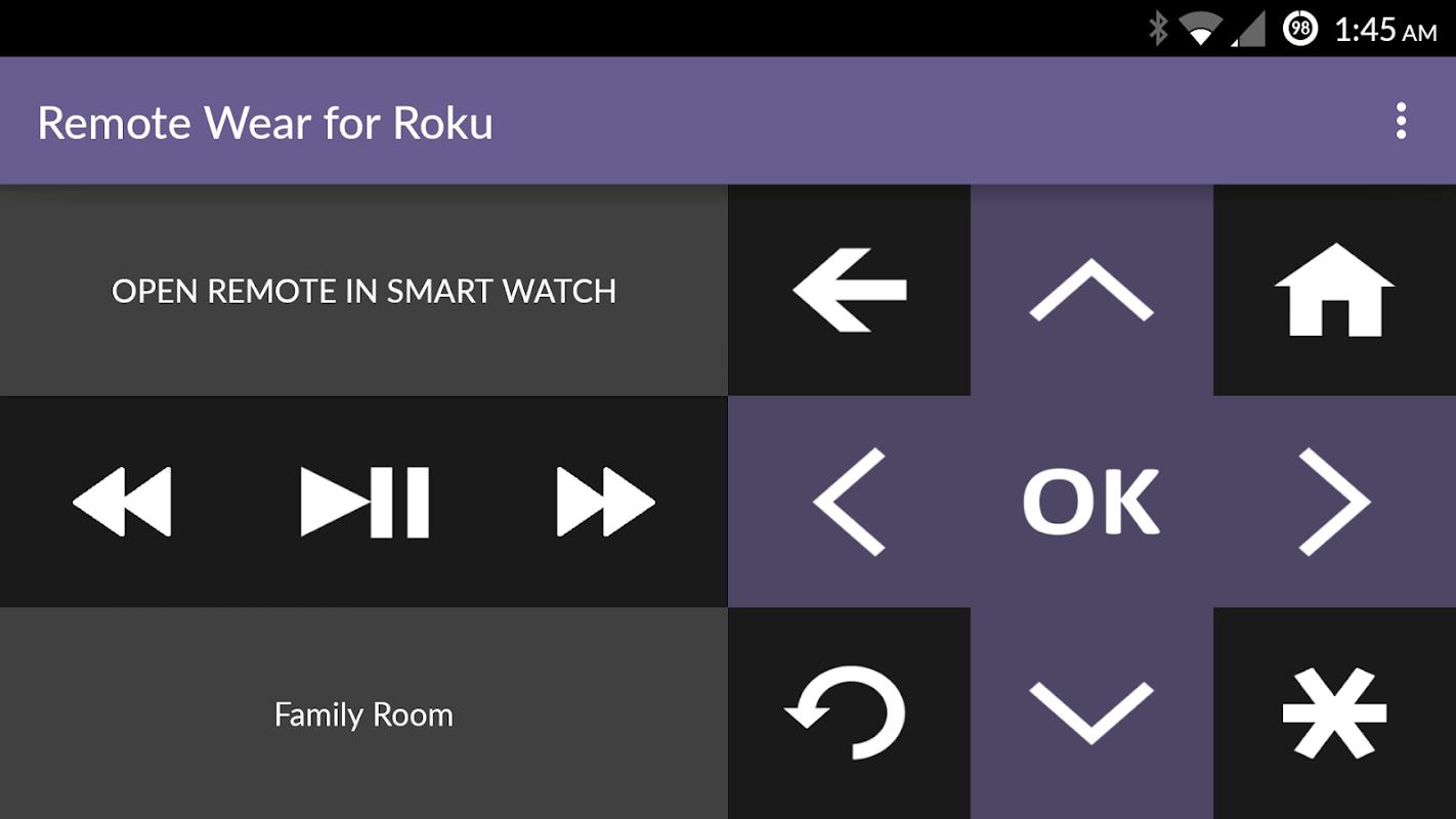 Remote Wear for Roku screenshots