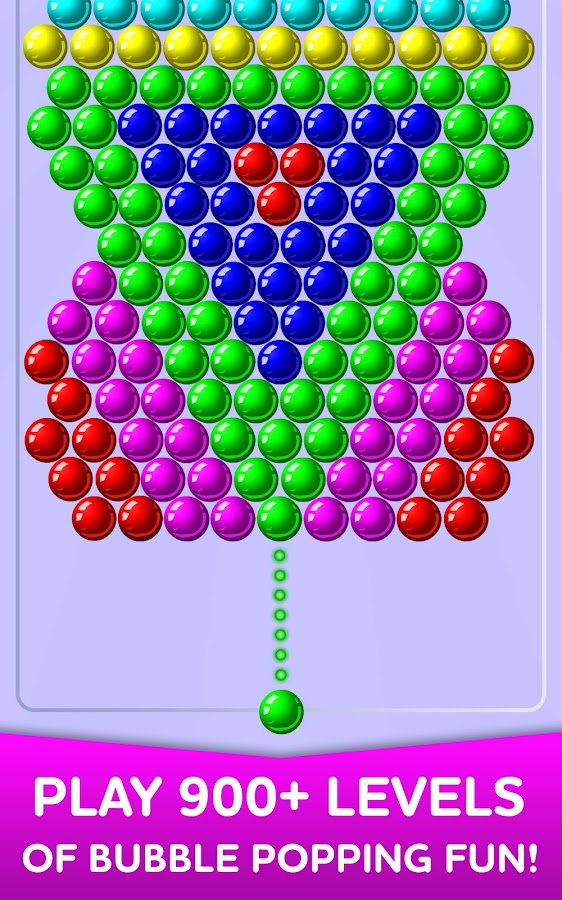 google bubble shooter