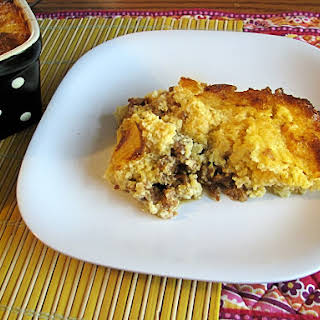 Sausage and Cheese Grits Casserole.
