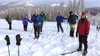 Photo: On the CDT - Skiers headed back to Stemple Pass