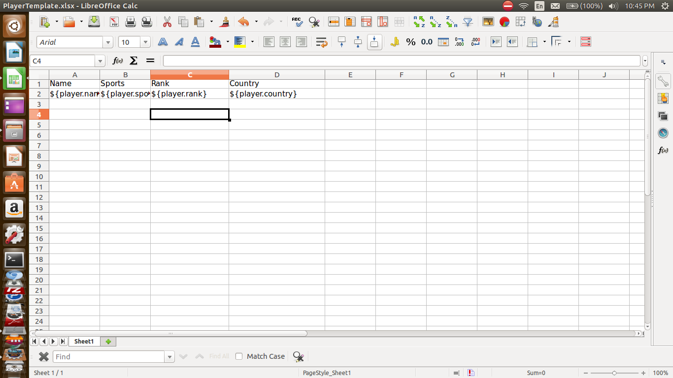 Create an Excel file using JXLS | Make & Know Java