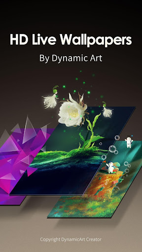 變色水晶動態壁紙