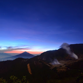 Sunrise at Papandayan Mountain - West Java, Indonesia by Firman Surya - Landscapes Mountains & Hills
