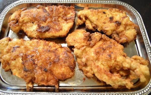 Cajun Fried Chicken Cutlet Recipe
