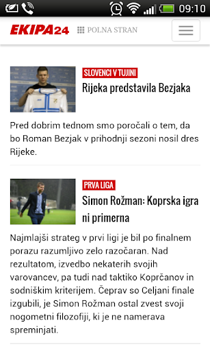 Newspapers of Slovenia