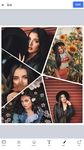 Photo collage maker & Photo Layout capturas de pantalla 4