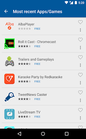 Cast Store for Chromecast Apps 0.13.2-11 screenshot 309567