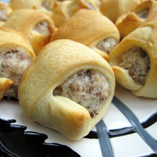 Sausage & Cream Cheese Crescents