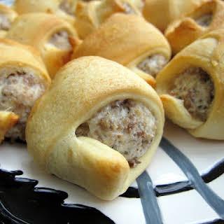 Sausage & Cream Cheese Crescents.