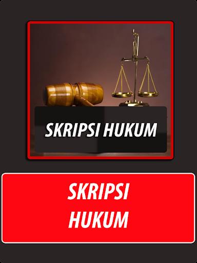 Skripsi Hukum