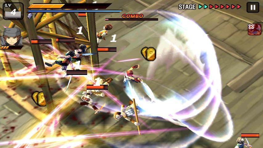 android Samurai Combat - 3D bataille Screenshot 6
