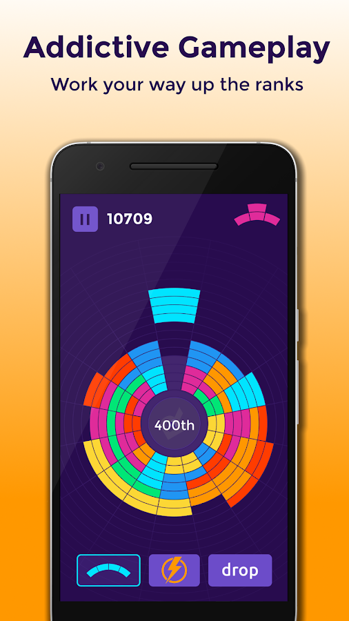 Rotatris – Color block puzzle- screenshot