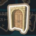 光の石のドア