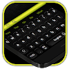 موضوع لوحة المفاتيح السوداء الكلاسيكية APK