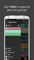 Screenshot of Raise The Bar - Goal Tracker
