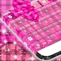 Plaid Pink Keyboard icon