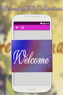 Welcome GIFs Collection - náhled