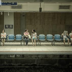 Wednesday Morning by Ryusuke Komori - People Street & Candids ( station, woman, taibei, taiwan, people )
