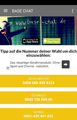 Chat nummer base aktuelle BaseChat