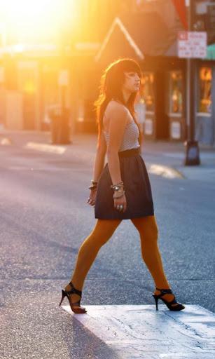 거리에 소녀 lwp