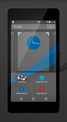 Dark - Blue Theme - screenshot
