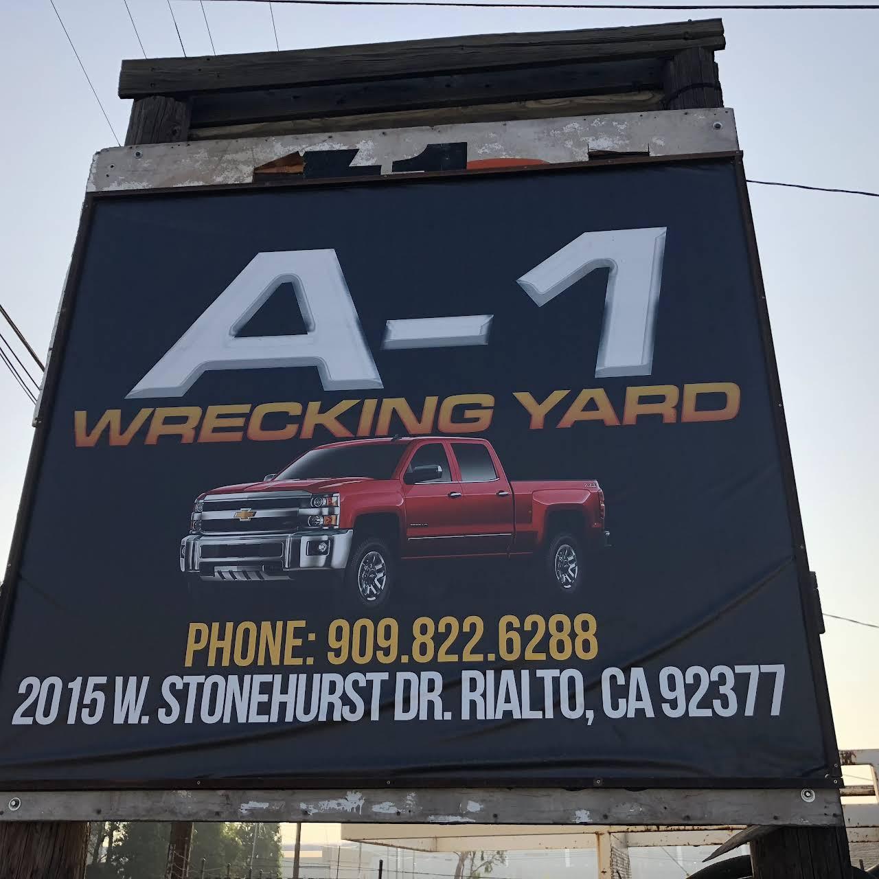 A-1 Wrecking Yard - Junkyard in Rialto