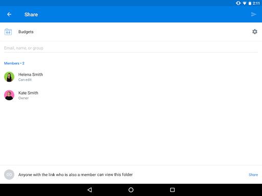 Dropbox screenshot 14