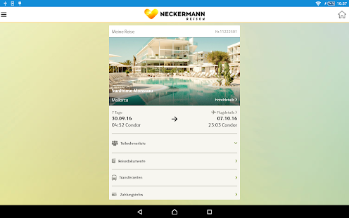 Thomas Cook Travelguide – Miniaturansicht des Screenshots
