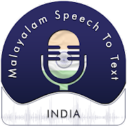 Malayalam (India) Speech To Text - Notes