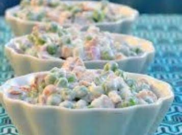 Peas And Peanuts Salad Recipe