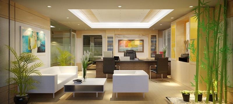Ý tưởng thiết kế nội thất văn phòng theo phong cách đương đại