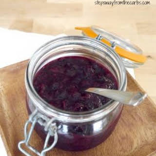 Low Carb Berry Sauce.