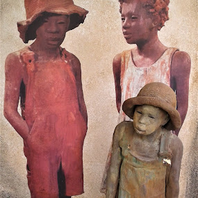 The Other Side of Plantation Life by Denise DuBos - Buildings & Architecture Statues & Monuments ( humble, plantation life, houmas house plantation, struggles, simple, hard, poverty )