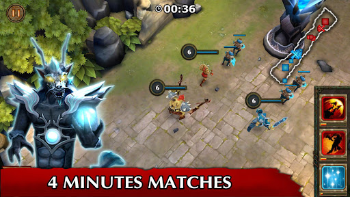 Legendary Heroes MOBA Offline screenshot 7