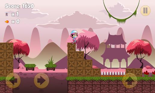 Pink Ninja Warrior Free - náhled