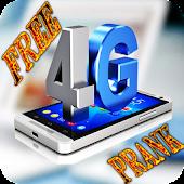 internet 3G+4G for free prank